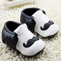 Baby Boy Girl Moccasins Moccs Shoes First Walkers Bebe Fringe Soft Soled Non-slip Footwear Crib Shoes PU Leather Newborn