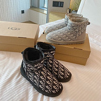 Dior x UGG Short Boots Shoes