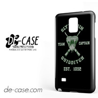 Slytherin Quidditch For Samsung Galaxy Note 4 Case Phone Case Gift Present YO