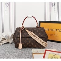 lv louis vuitton women leather shoulder bags satchel tote bag handbag 3