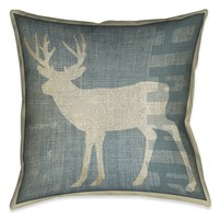 Deer Patch Indoor Decorative Pillow