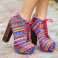 Young, Wild, & Free Heels: Multi | Hope's