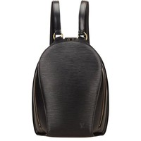 Louis Vuitton Black Epi Mabillon Backpack
