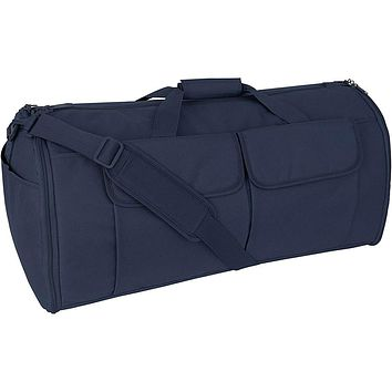 Mercury Tactical Gear Code Alpha Hybrid Garment Duffel Bag Basic Navy Blue