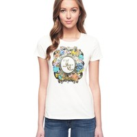 Logo Jc Tangled Garden Tee by Juicy Couture