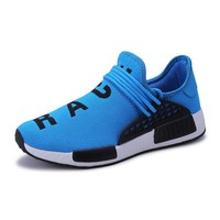 Running Shoes for Men 2018 Brand Sneakers White Shoes Human Race Shoes Man Zapatillas Hombre Deportiva Breathable Sports Shoes