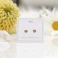 JaxKelly - Mom, I Heart You -  Limited Edition Mothers Day Earrings