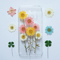 iPhone 6s cover, Pressed Flower iPhone 6s Plus cover, iPhone 6 cover, Clear iPhone 6s cover, iPhone 6s Plus Ccover, flower iphone 6 cover