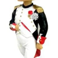 "Napoleon Bonaparte French Revolution 7"" Bobble Head in Collector's Box"