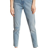 Cheap Monday | Donna Distressed High Rise Ankle Jeans | Nordstrom Rack