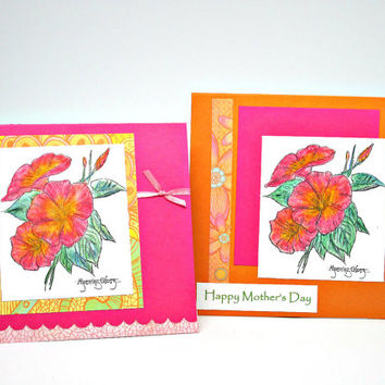 Mother's Day Card, Bath Salt Card Insert, Gift Card Package with Bath Soak, One of a Kind