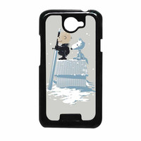 Game Of Thrones Winter Peanuts HTC One X Case