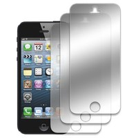 EMPIRE Apple iPhone 5 / 5S / 5C 3 Pack of Mirror Screen Protectors