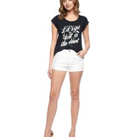 Colored High Rise Rolled Short by Juicy Couture,