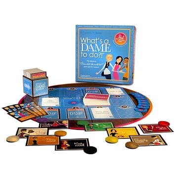 What's a Dame To Do? Girls Womens Night Adult Board Game