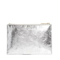 Whistles Small Clutch in Silver