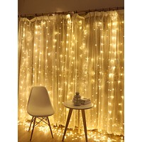 120pcs Curtain String Light