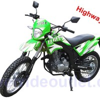 PRO Dirt Street King Enduro 250cc Sports Bike Air Cooling Engine, 5 Gear Shifting, Manual Clutch On/Off road use, On Road Tires, 3 gallon fuel tank capacity, can be licensed in most states, Fully Assembled Package available)
