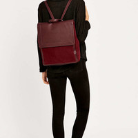 Suede Pocket Plum Backpack - Urban Outfitters
