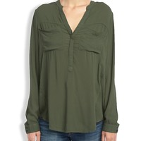Lucky Brand Traveler Tunic Womens