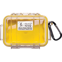 1010 Micro Case, Clear Top Yellow