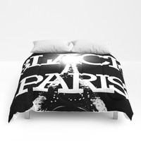 BLACK PARIS Comforters by Chrisb Marquez