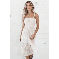 All Natural Midi Dress