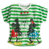 Disney Minnie and Mickey Mouse ''Smooch'' Tee for Women | Disney Store
