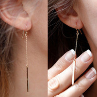 Cupshe Fashion Line-styled Earings