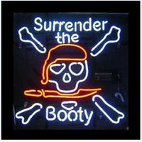 Surrender The Booty Neon Sign Real Neon Light