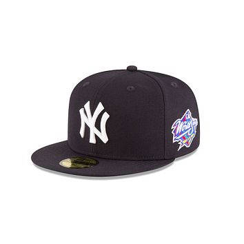 """New Era """"New York Yankees"""" 1998 World Series Grey Bottom 59Fifty Fitted Hat"""
