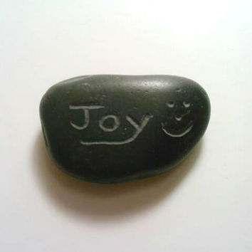 ONE Custom Rock,  Engraved Rocks, Personalized Stones,Stone Paperweight