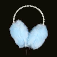 Pearls and Fur Headphones/Earmuffs