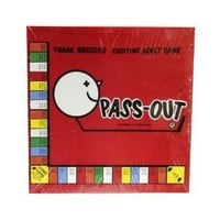 Pass Out Adult Drinking Board Game