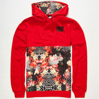 Neff Snake Life Mens Hoodie Red  In Sizes