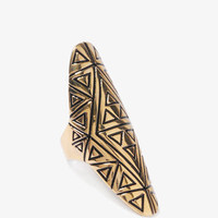 Tribal Knuckle Ring