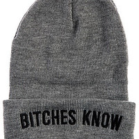 The Knowing Beanie in Grey