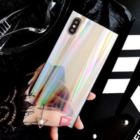 Laser Holographic Rainbow iPhone XS XR XS Max Case