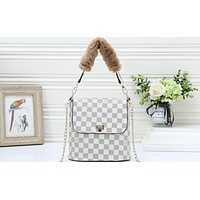 LV Fashion Ladies'Printed Colour Single Shoulder Bag Shopping Bag