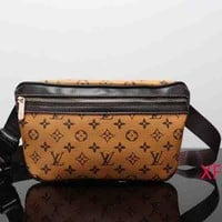 Tagre™ Louis Vuitton Women Leather Purse Waist Bag Single-Shoulder Bag Crossbody