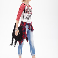 FOREVER 21 Low Rise - River Wash Jeans Denim