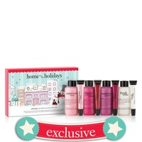 home for the holidays   holiday shampoo, bubble bath and shower gel plus lip shine set   philosophy bath & body value sets