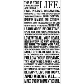 Art.com - This is Your Life Art Print