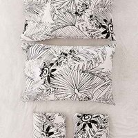 Graphic Palm Sheet Set - Urban Outfitters