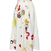 Collage Print Wrap Skirt - Marc Jacobs