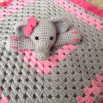Chevron Elephant Lovey | Crochet lovey, Crochet blanket patterns ... | 354x354