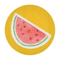 Watercolour Watermelon - Glass Cutting Board