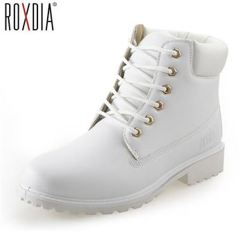 Fashion Online Autumn Winter Women Ankle Boots New Fashion Woman Snow Boots For Girls Ladies Work Shoes