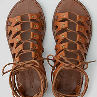 AEO Lace-Up Sandal , Brown