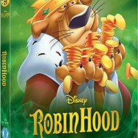 Robin Hood [Blu-ray] Disney Villains O-Ring Slipcover Edition UK Import (Region Free) Disney Classics #21